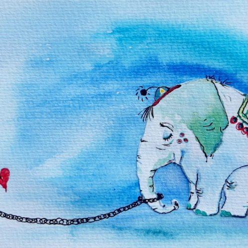 El Elefante encadenado original